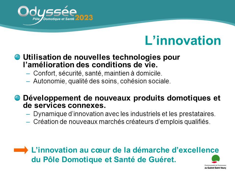 Linnovation Utilisation de nouvelles technologies pour lamélioration des conditions de vie.