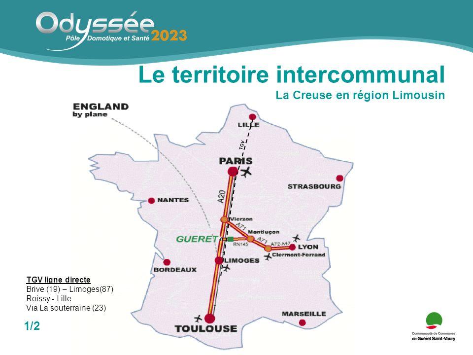 Le territoire intercommunal 19 communes - 29 060 habitants 2/2