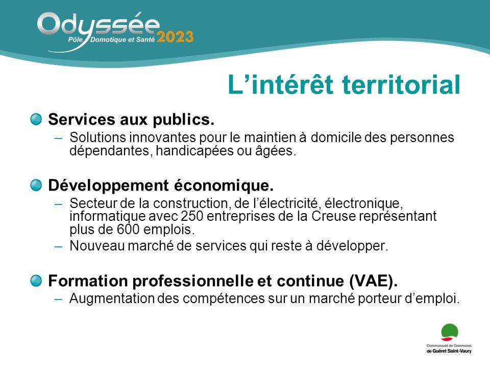 Lintérêt territorial Services aux publics.