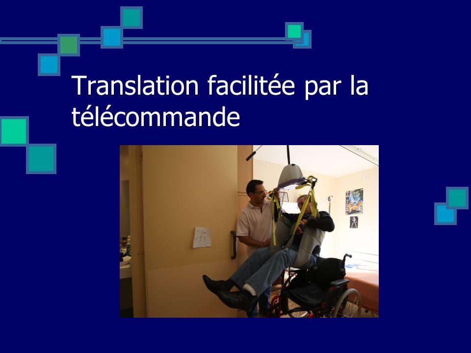 Translation facilitée par la télécommande