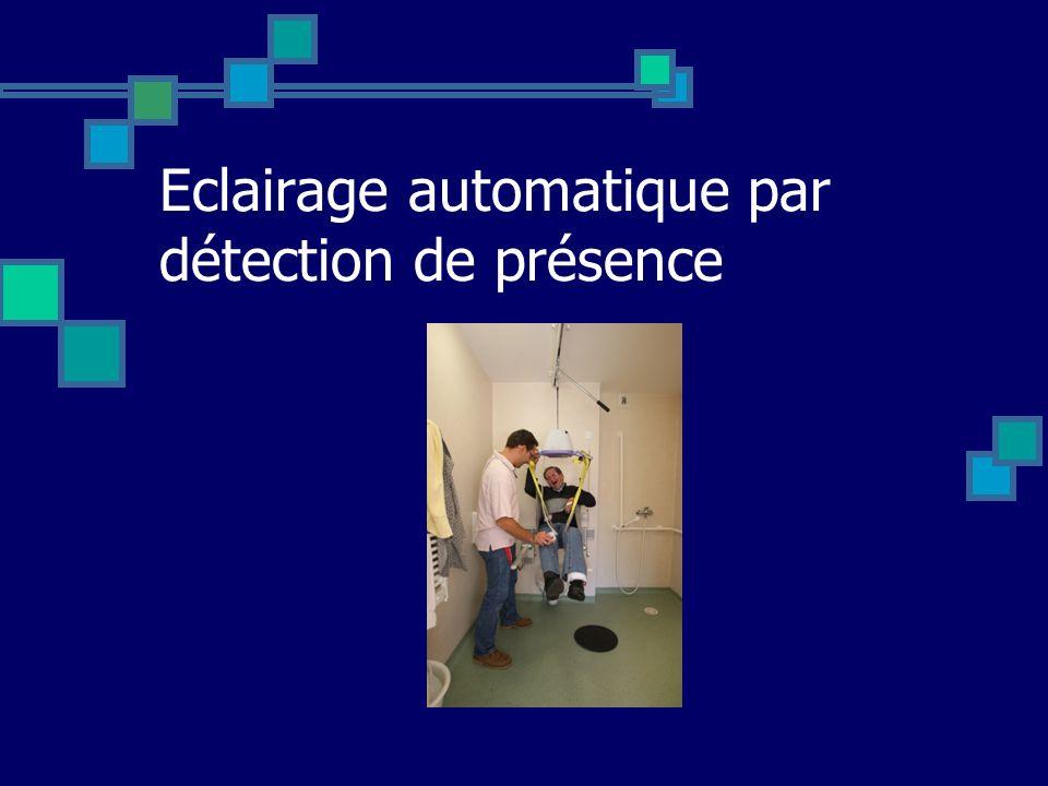 Eclairage automatique par détection de présence