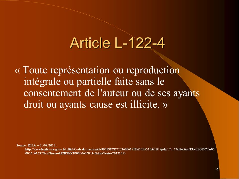 15 Remarques Sons et images : pas de droit de citation Sons et images : attention aux droits voisins Sites web : voir diapos suivantes