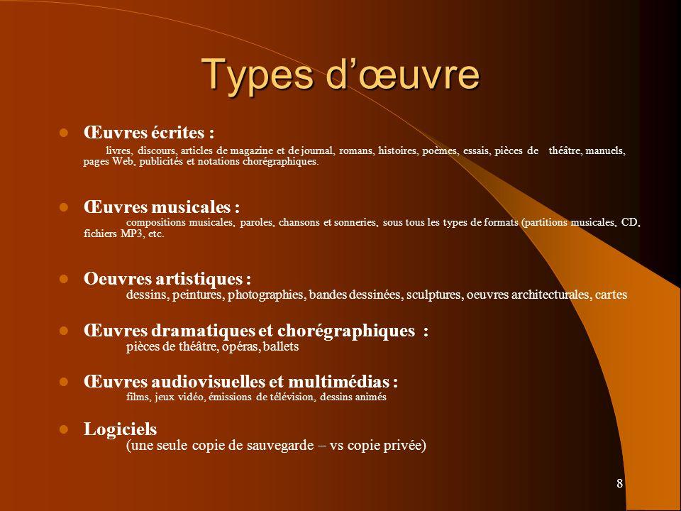 39 Exception pédagogique BOEN n°5 du 4 février 2010 BOEN n°16 du 19 avril 2012 CPI art L. 122-5