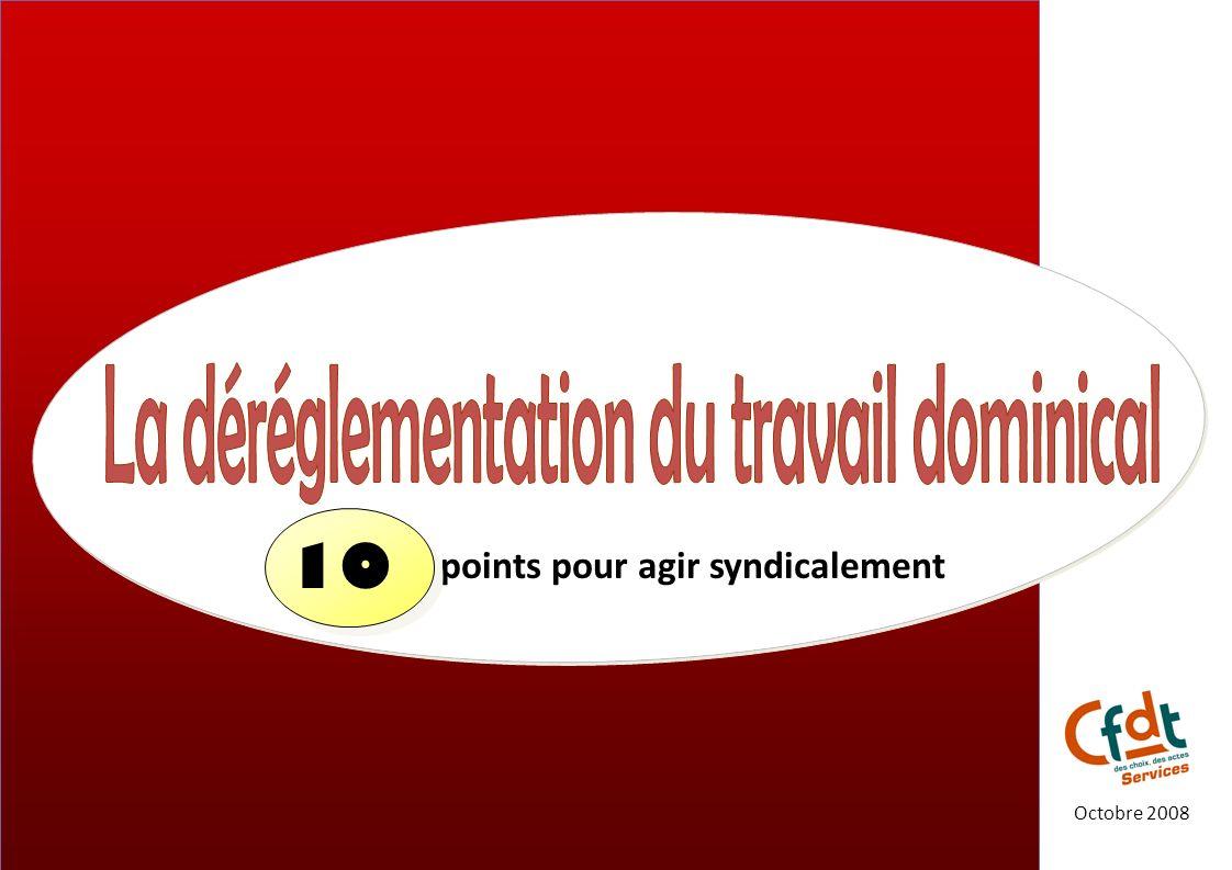points pour agir syndicalement Octobre 2008 10