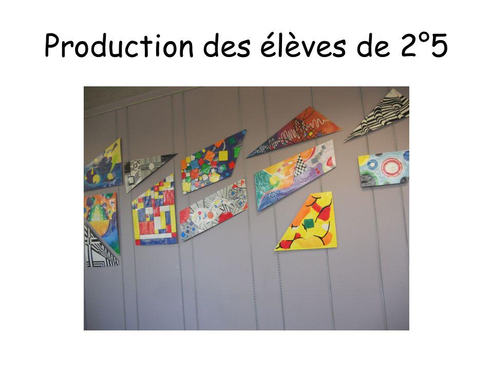 Production des élèves de 2°5