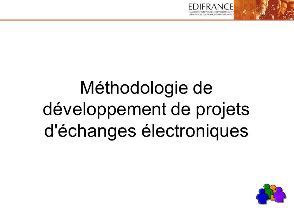 Méthodologie de développement de projets d'échanges électroniques