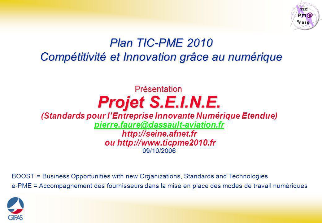 Page : 1 Projet S.E.I.N.E.– Pierre Faure - 09/10/06 Présentation Projet S.E.I.N.E.