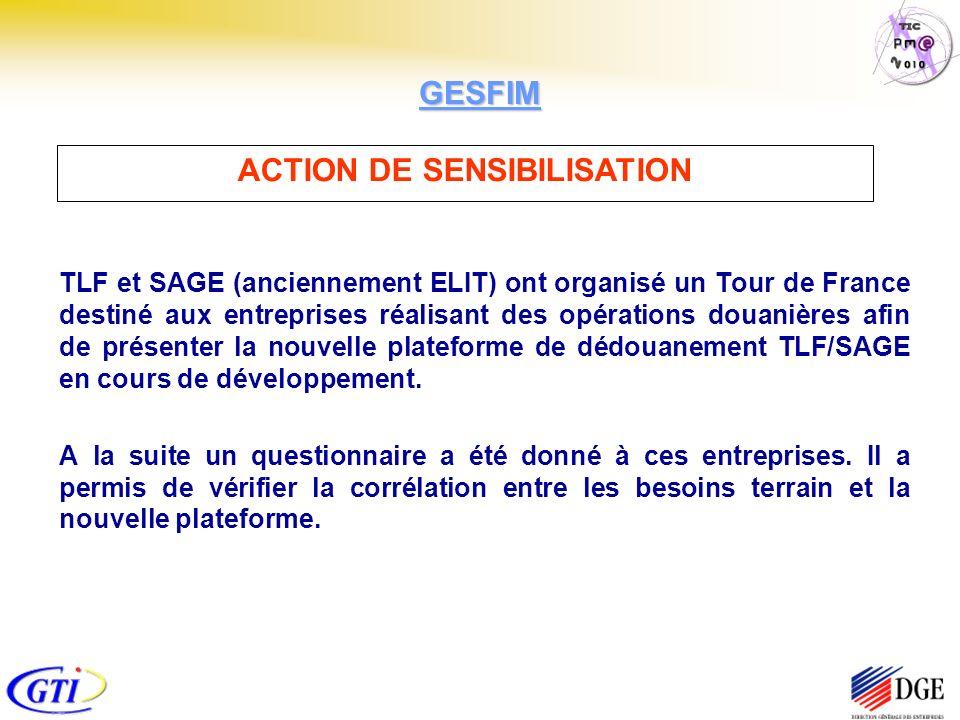 TLF et SAGE (anciennement ELIT) ont organisé un Tour de France destiné aux entreprises réalisant des opérations douanières afin de présenter la nouvelle plateforme de dédouanement TLF/SAGE en cours de développement.