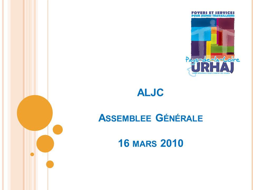 ALJC A SSEMBLEE G ÉNÉRALE 16 MARS 2010