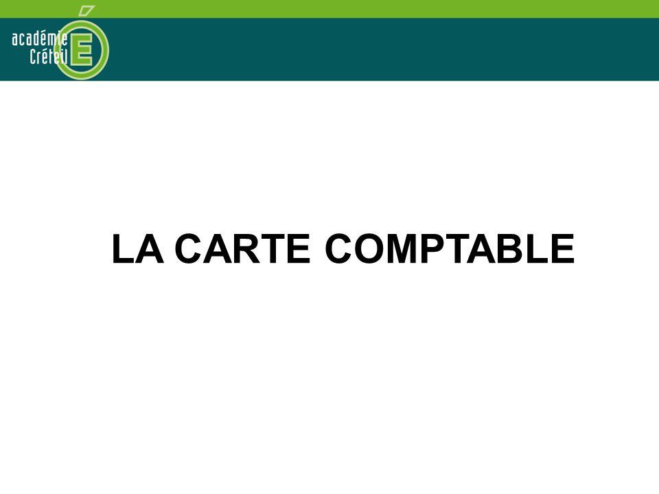 LA CARTE COMPTABLE