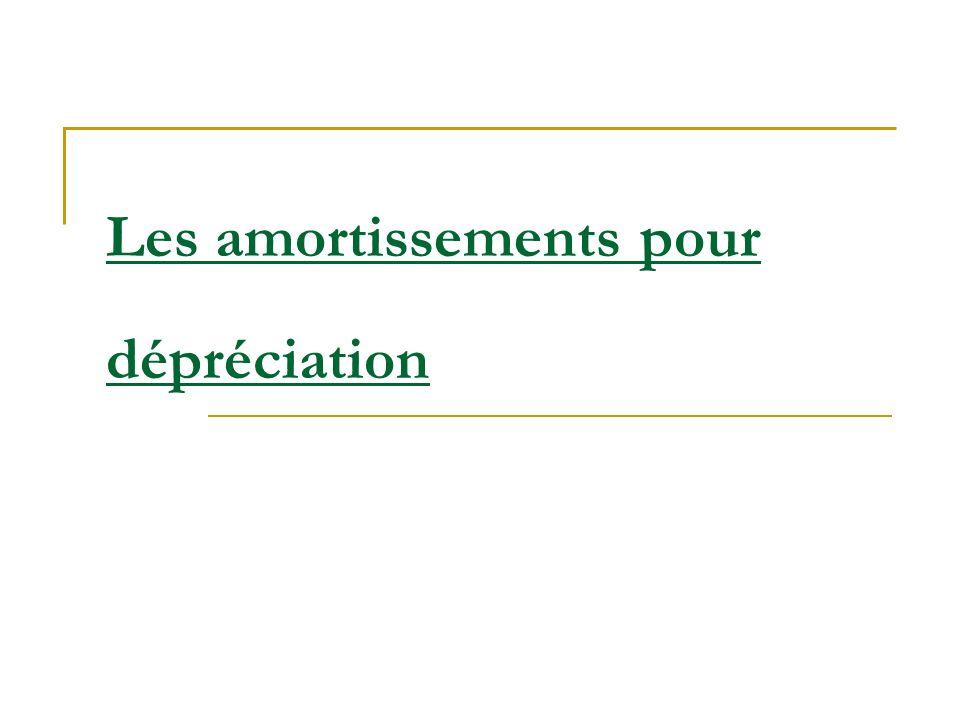 Plan I.La notion damortissement I.1. définitions I.2.
