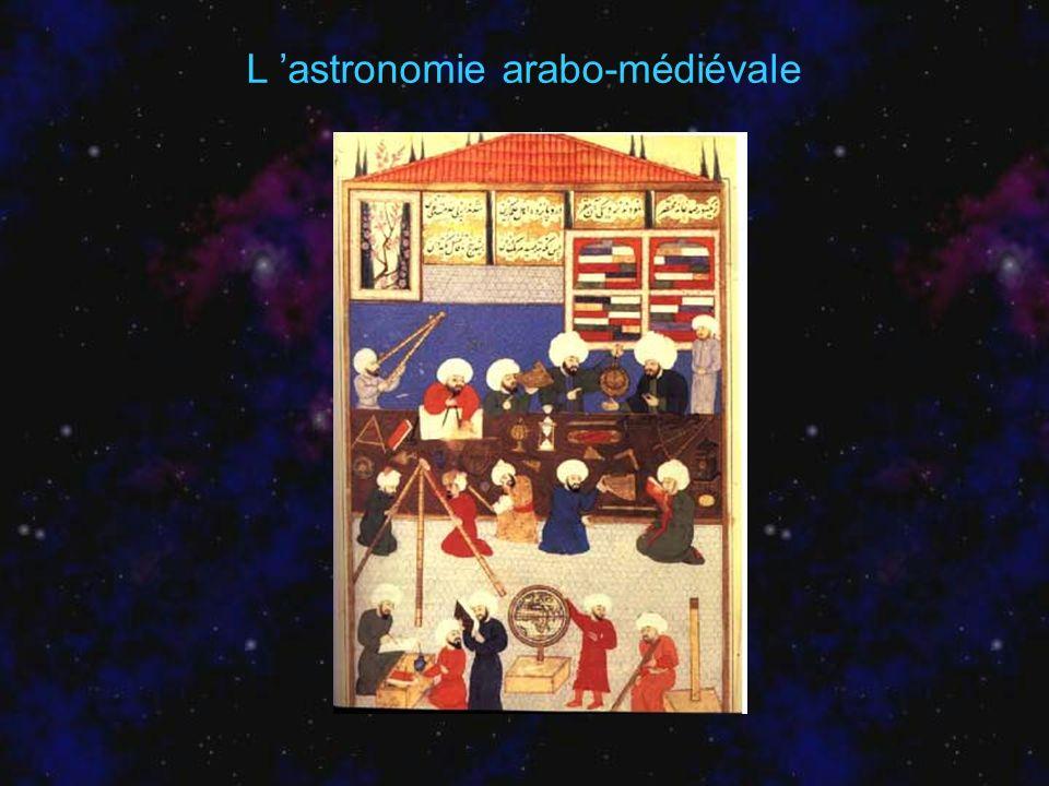L astronomie arabo-médiévale