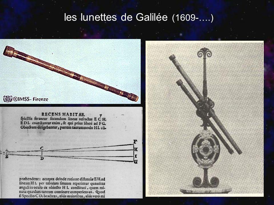 les lunettes de Galilée (1609-….) Peut on vraiment se fier à ces instruments?