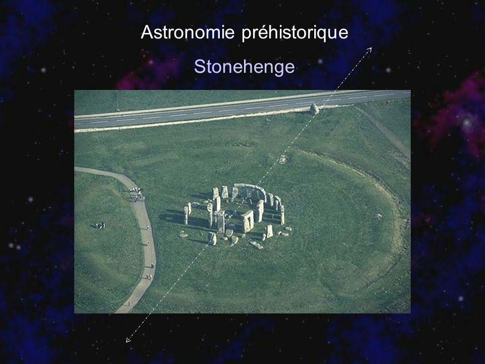 Astronomie préhistorique Stonehenge