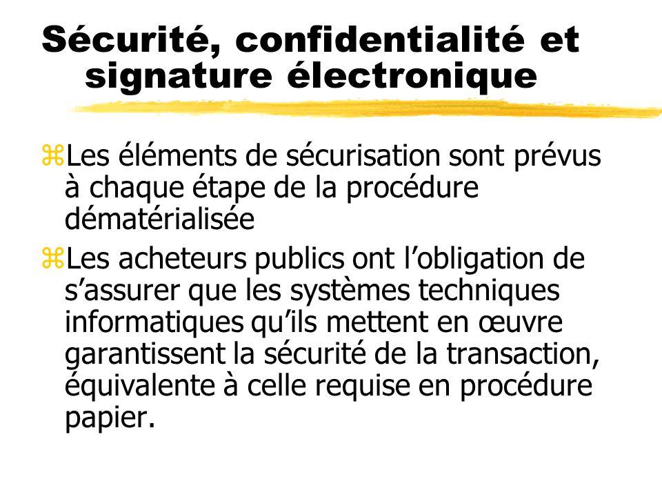 Certificat de signature électronique zLes opérateurs économiques peuvent souscrire un certificat de signature électronique auprès de fournisseurs les