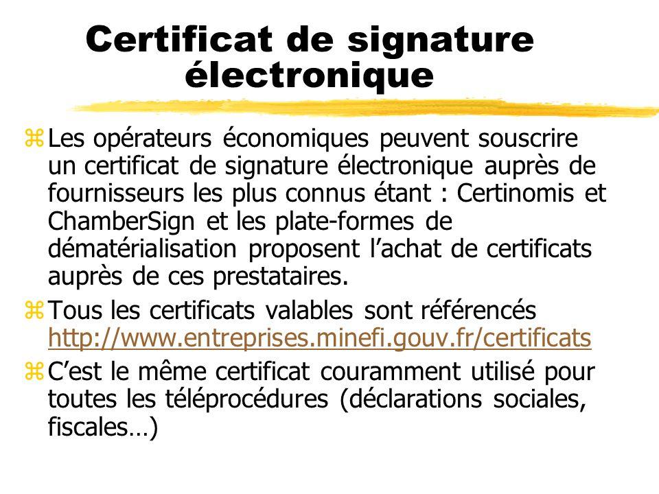 La signature électronique zLa signature nécessaire à la perfection d un acte juridique identifie celui qui l appose.