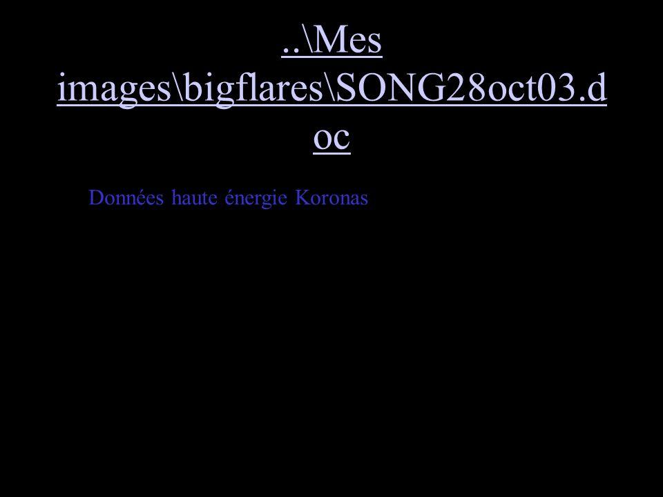 ..\Mes images\bigflares\SONG28oct03.d oc Données haute énergie Koronas