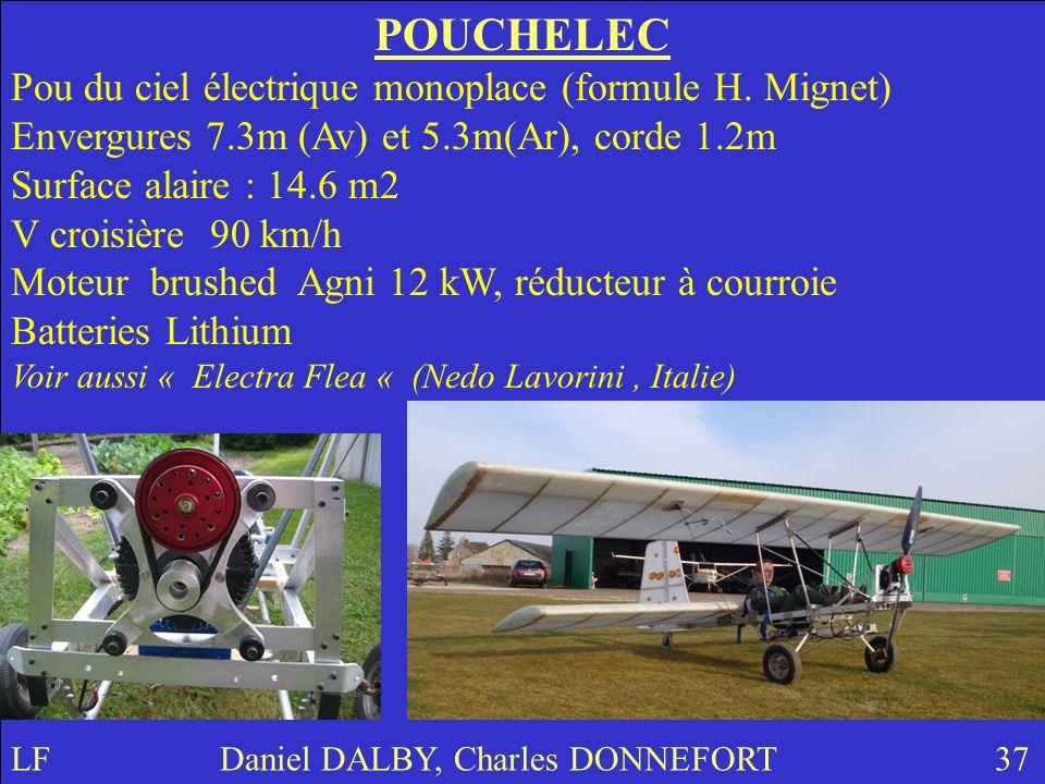 POUCHELEC Pou du ciel électrique monoplace (formule H.