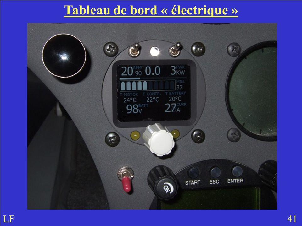 Tableau de bord « électrique » LF 41