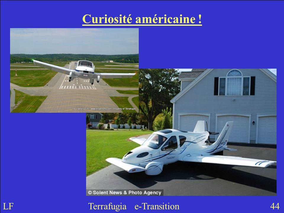 Curiosité américaine ! LF Terrafugia e-Transition 44