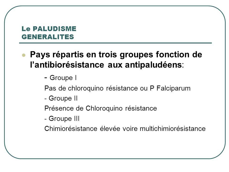 ANTIPALUDEENS Médicaments schizonticides Actifs sur cycle endoérythrocytaire Electifs Quinine Méfloquine (LARIAM) Chloroquine (NIVAQUINE) Halofantrine (HALFAN Antimétabolites daction lente Proguanil Pyrimethamine (MALOCIDE)
