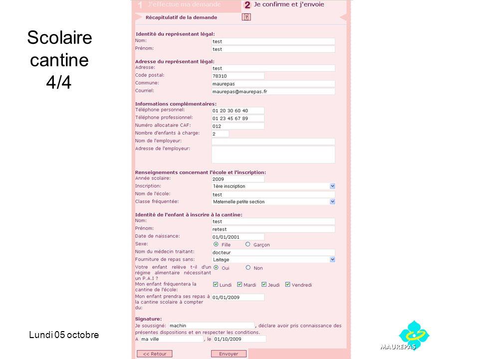 Lundi 05 octobreRefonte maurepas.net Scolaire cantine 4/4