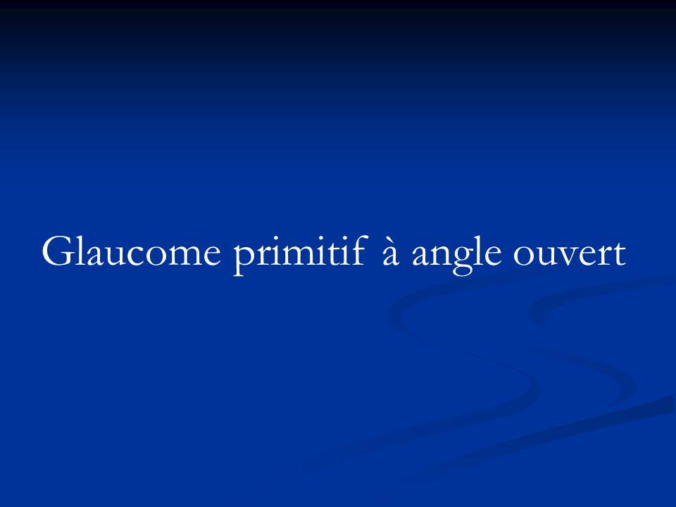 Iridotomie périphérique Curative : au laser Yag associé au laser Argon dès que lœdème cornéen diminue.