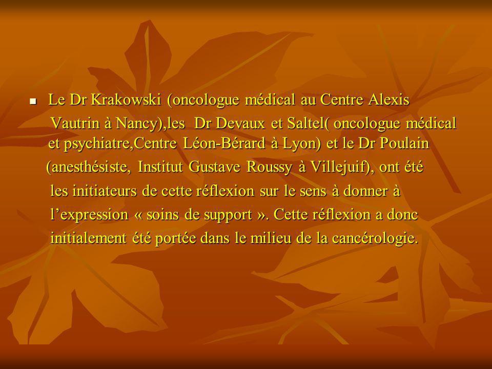 Le Dr Krakowski (oncologue médical au Centre Alexis Le Dr Krakowski (oncologue médical au Centre Alexis Vautrin à Nancy),les Dr Devaux et Saltel( onco