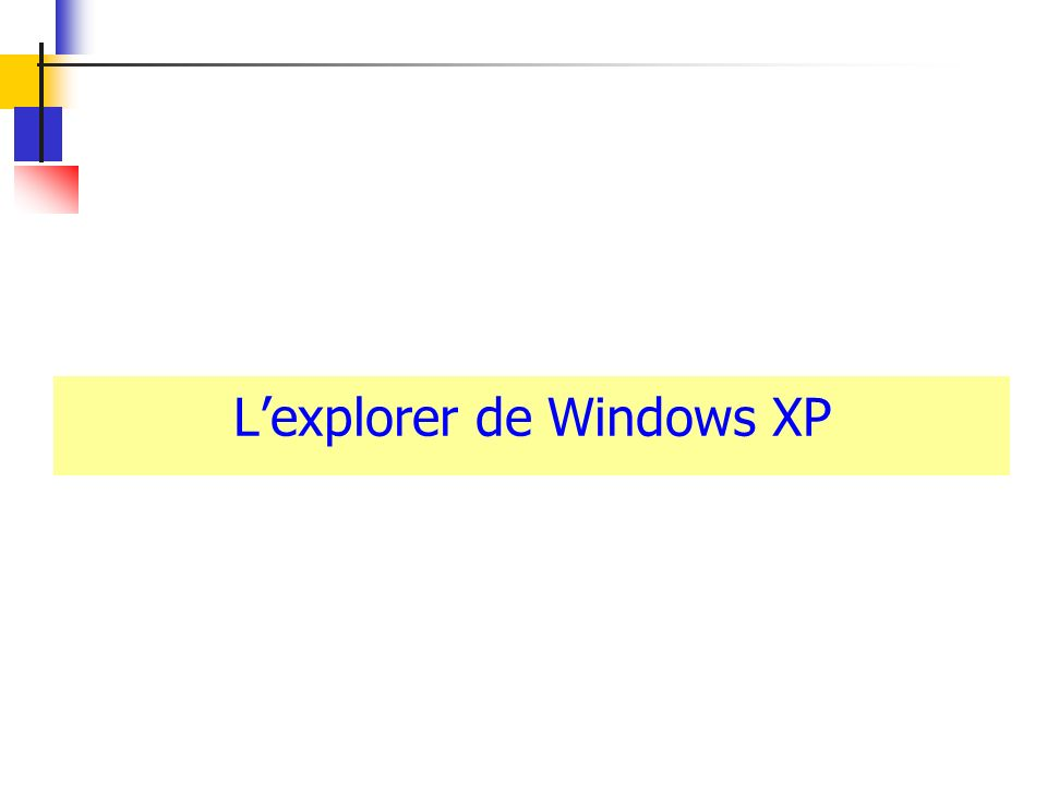 Lexplorer de Windows XP