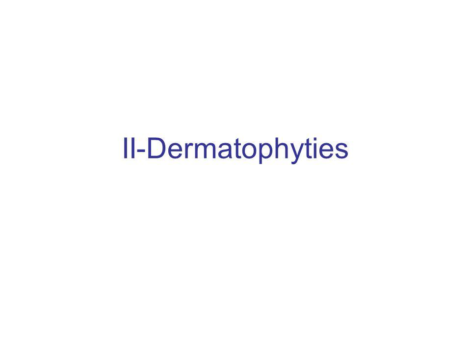 II-Dermatophyties