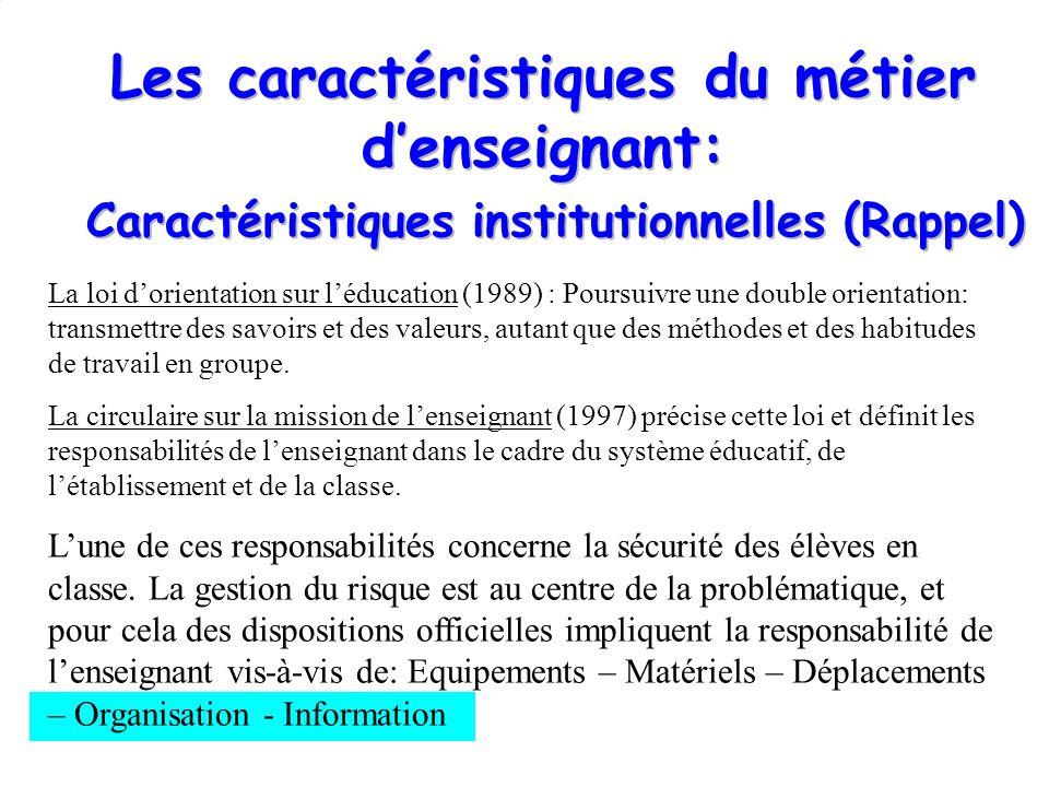 La loi dorientation sur léducation (1989) : Poursuivre une double orientation: transmettre des savoirs et des valeurs, autant que des méthodes et des