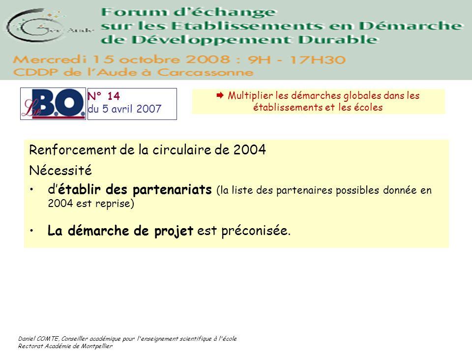 Daniel COMTE, Conseiller académique pour l'enseignement scientifique à l'école Rectorat Académie de Montpellier N° 14 du 5 avril 2007 Multiplier les d