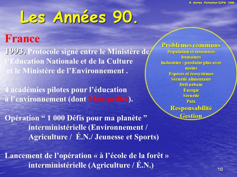 10 Les Années 90. France 1993. 1993.