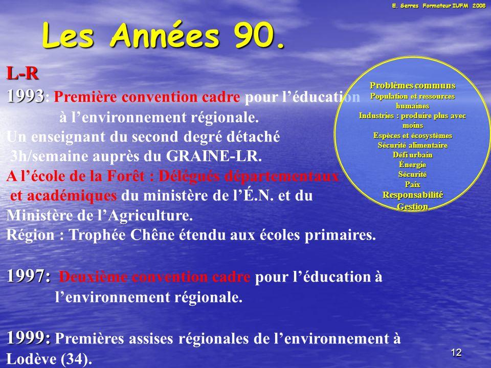 12 Les Années 90.