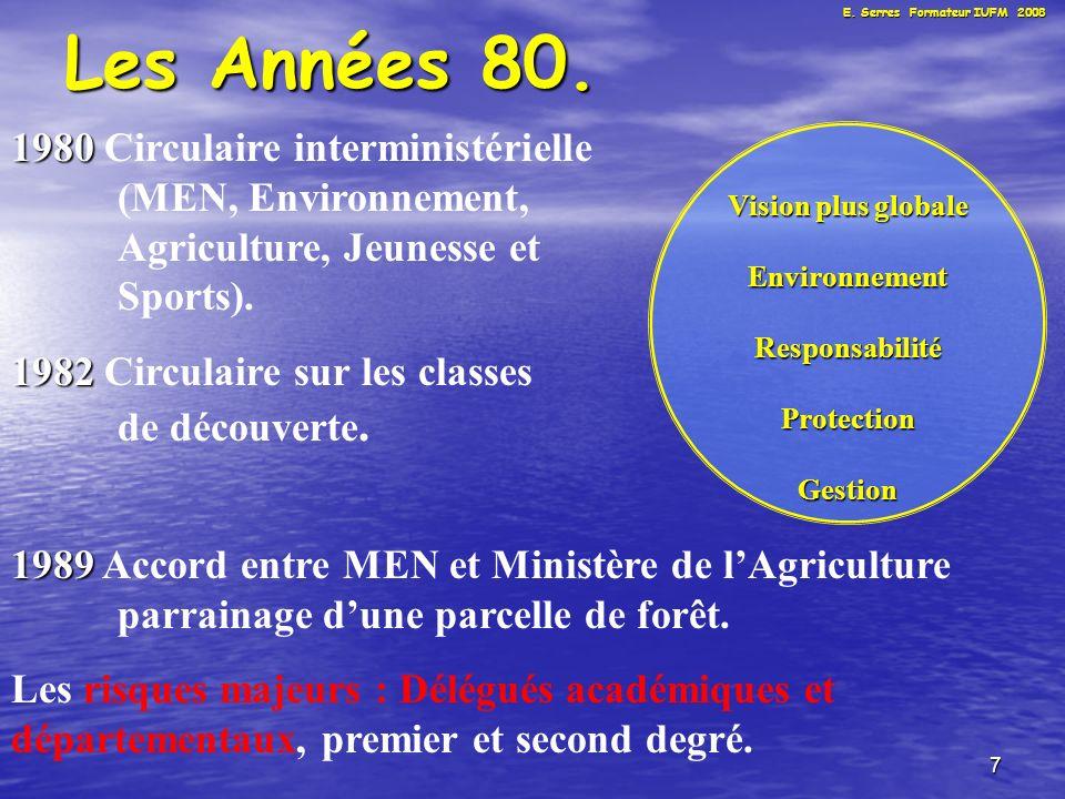 7 Les Années 80.