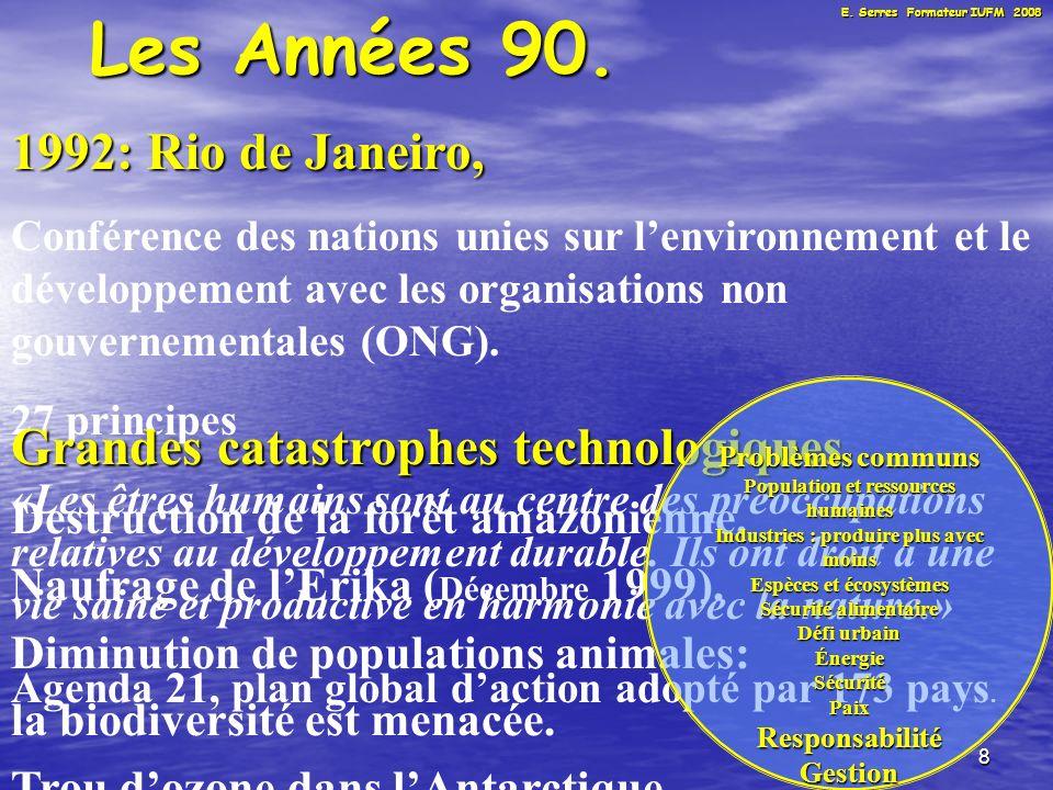 9 Les Années 90.France 1988: 1988: Secrétariat détat.