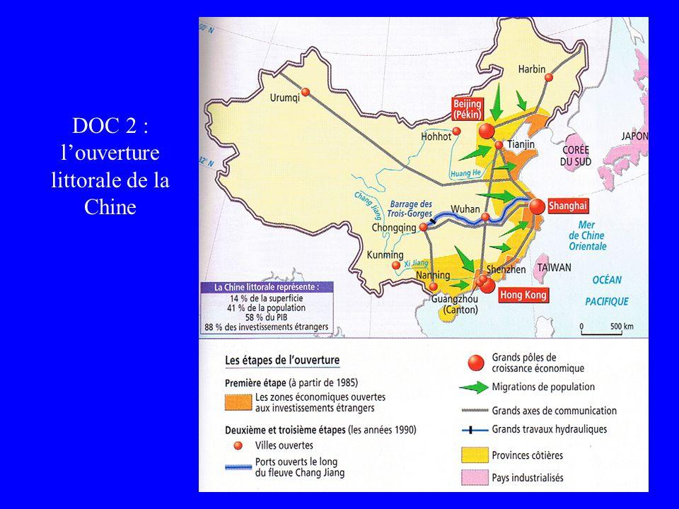 Jeanne POUJOL, formatrice I.U.F.M. DOC 2 : louverture littorale de la Chine