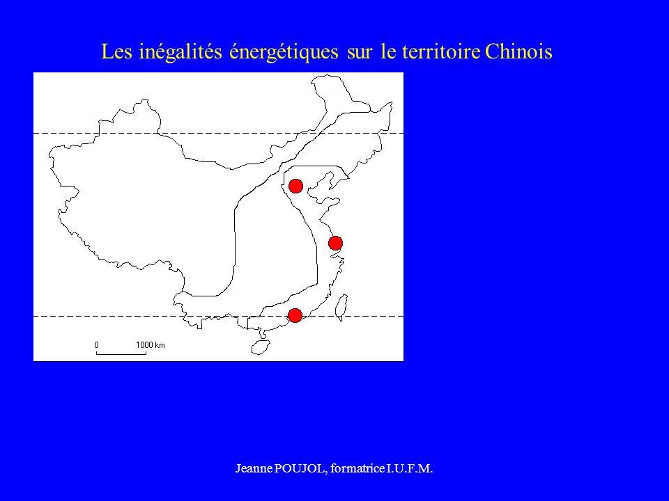 Jeanne POUJOL, formatrice I.U.F.M. Les inégalités énergétiques sur le territoire Chinois