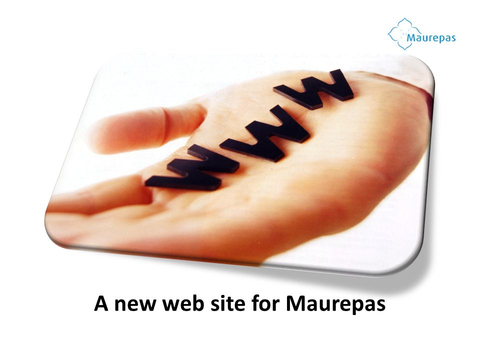 A new web site for Maurepas