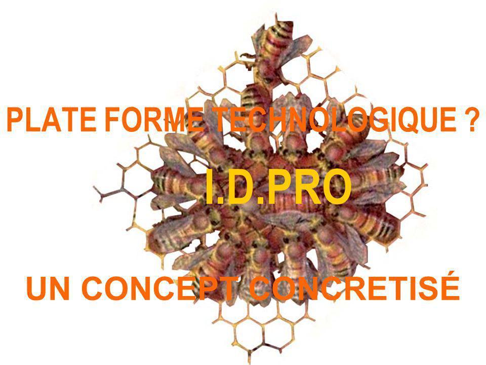 PLATE FORME TECHNOLOGIQUE ? UN CONCEPT CONCRETISÉ I.D.PRO