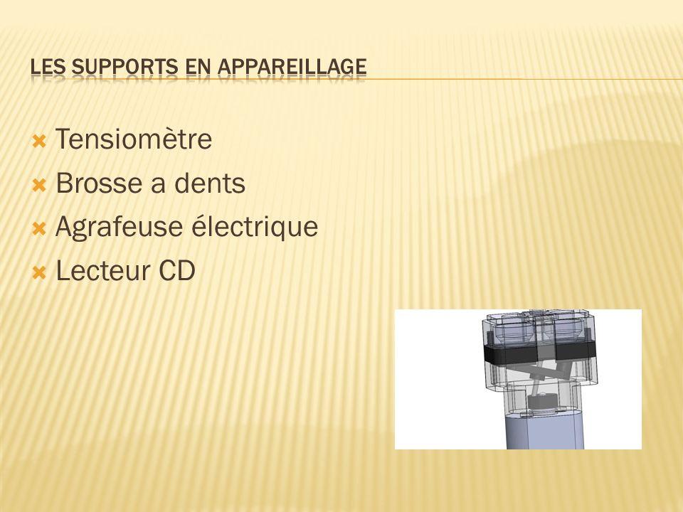 Tensiomètre Brosse a dents Agrafeuse électrique Lecteur CD