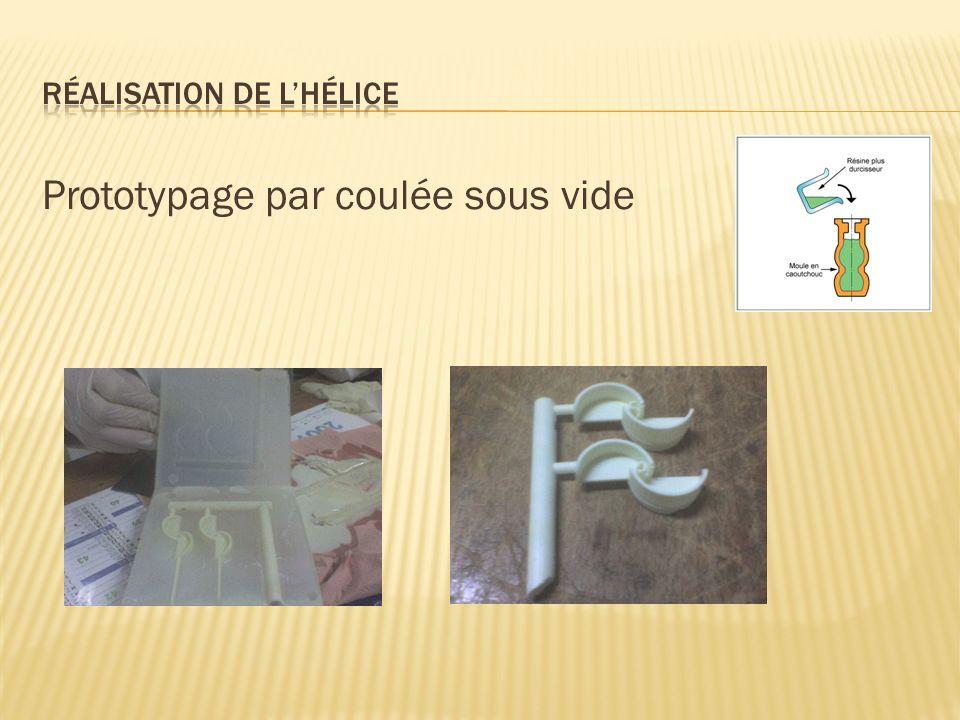 Prototypage par coulée sous vide