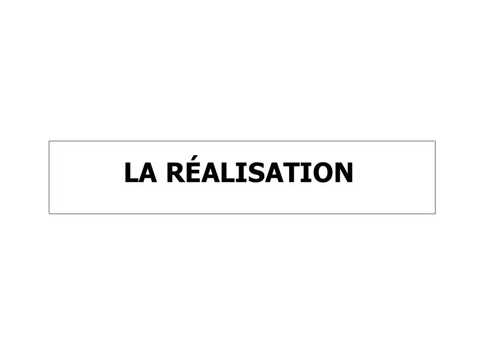 LA RÉALISATION