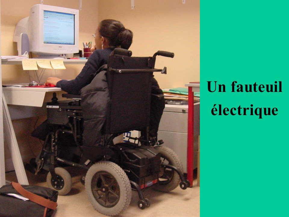 Un fauteuil électrique