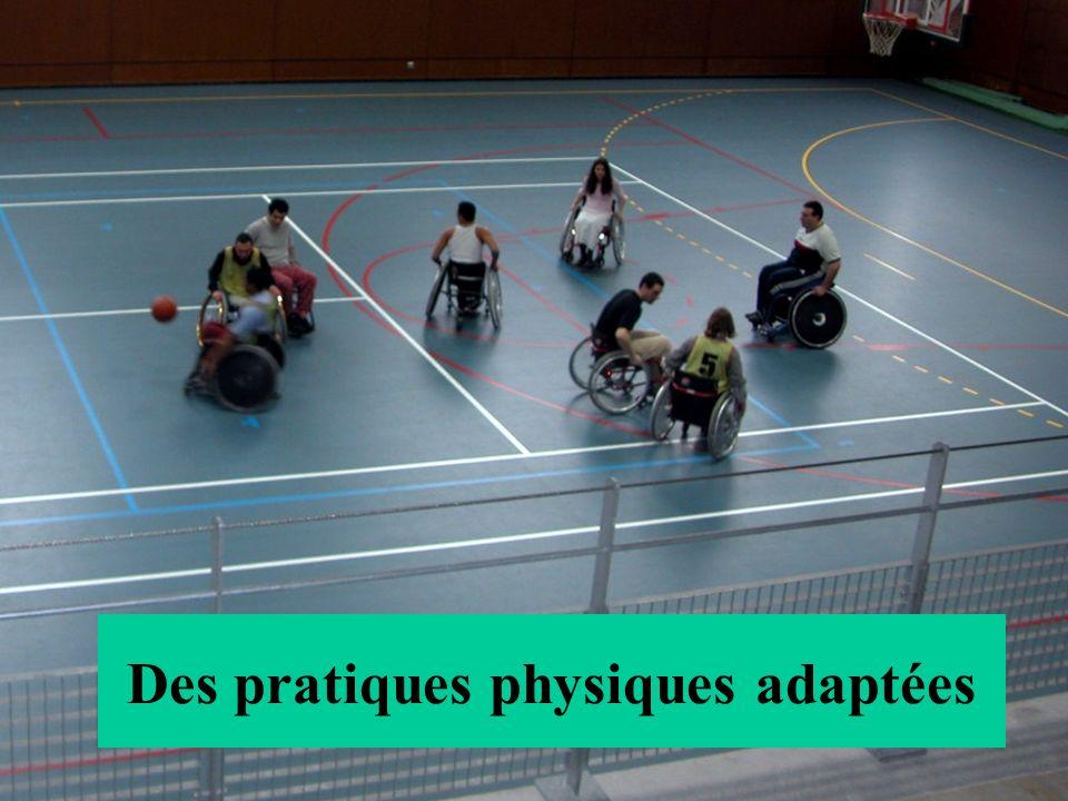 Des pratiques physiques adaptées