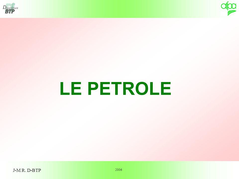 2 Traitement du pétrole brut Caractéristiques physiques du fioul domestique Les hydrocarbures Unités particulières