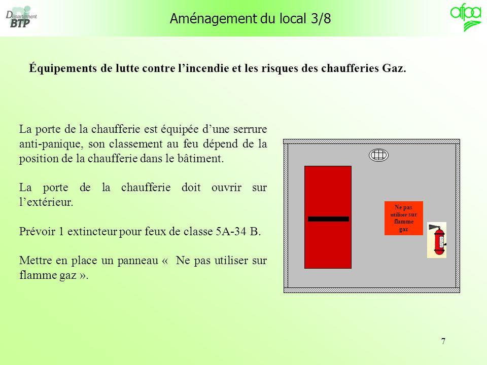 38 Réglementation des locaux présentant des risques dincendie Références : décret N° 62-1454 du 14/11/1962 et décret N° 75-112 du 19/02/1975.