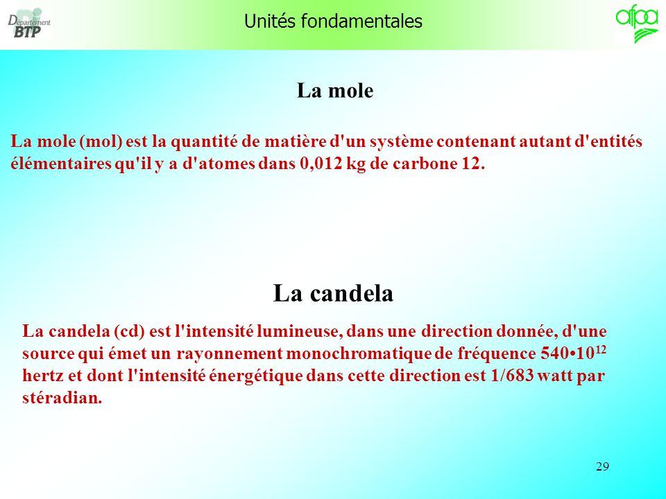 28 L'ampère L'ampère (A) est l'intensité d'un courant électrique constant qui, maintenu dans deux conducteurs parallèles, rectilignes, de longueur inf