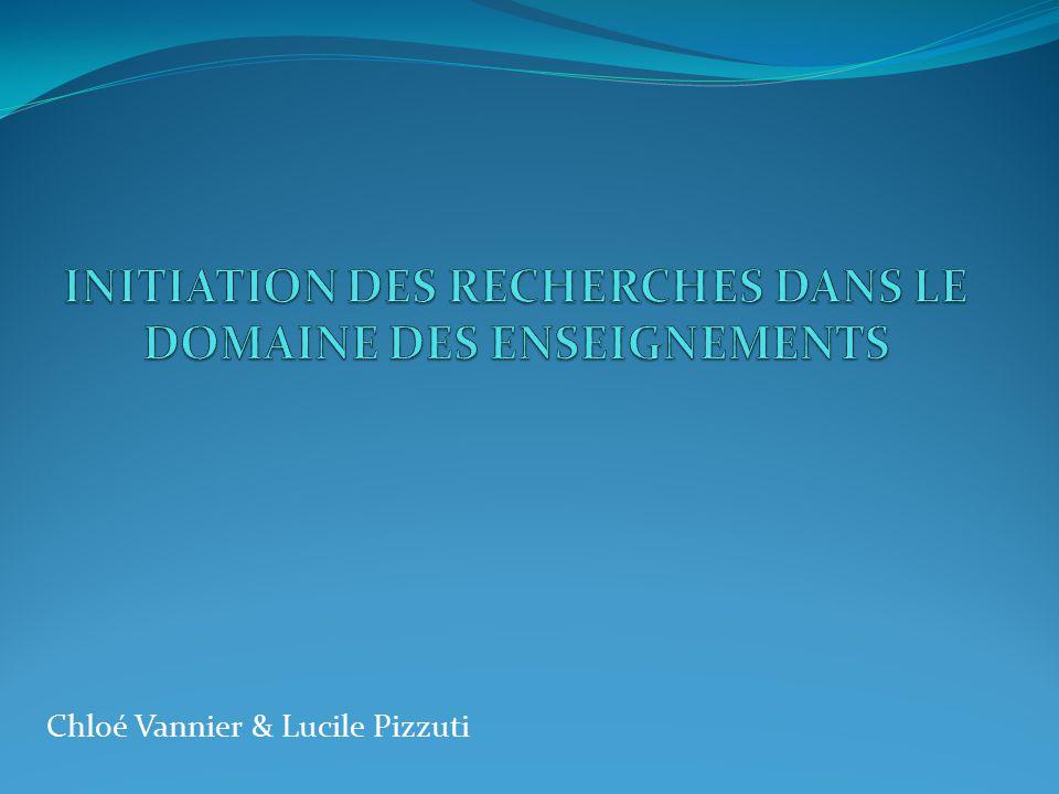Chloé Vannier & Lucile Pizzuti