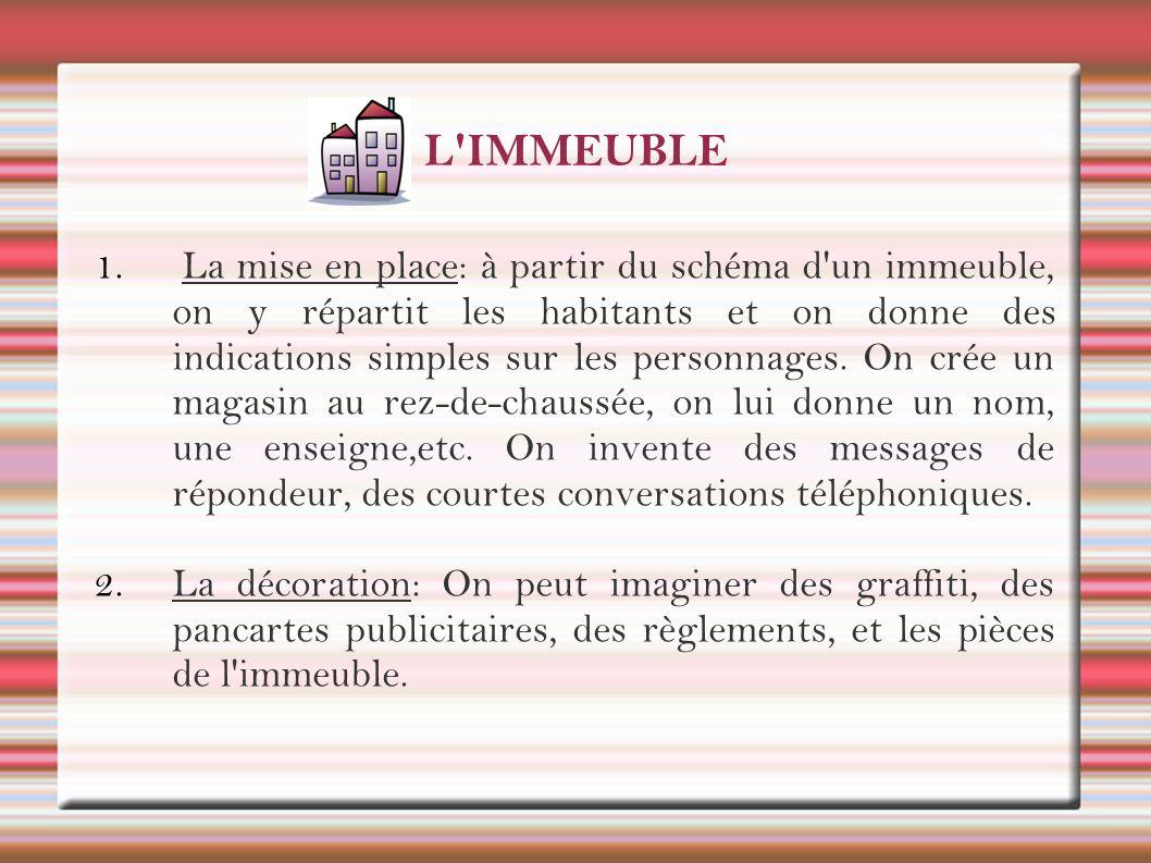 L IMMEUBLE 3.
